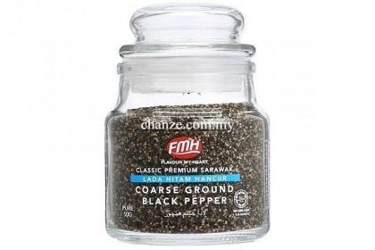Classic Premium Coarse Ground Black Pepper FMH黑胡椒碎(中)-50g