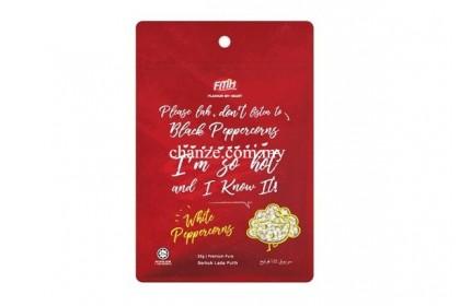 Premium Pure White Peppercorns FMH纯正白胡椒粒-25g