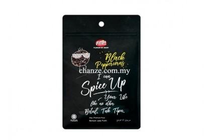 Premium Pure Black Peppercorns FMH纯正黑胡椒粒-25g