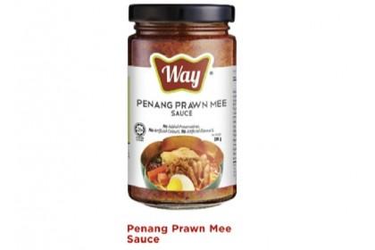 Combo C - Sesame Oil/Thin Handmade Mee Suah/Way Sauce Penang Prawn Mee [Free]6 Pack Sesame Oil Sachet