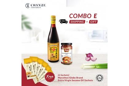 Combo E - Sesame Oil/ Way Sauce Penang Prawn Mee [Free]6 pack Sesame Oil Sachet